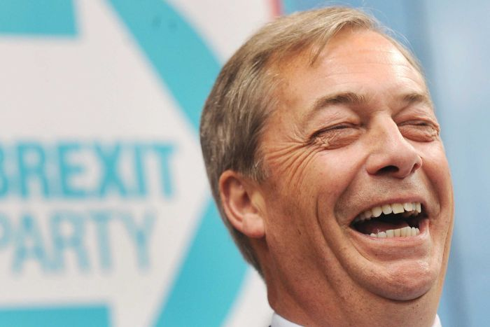 UK, Brexit Party di Farage primo partito con il 31.6%
