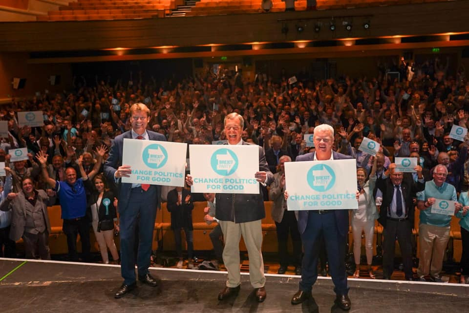 La disonestà dei media inglesi su Brexit Party