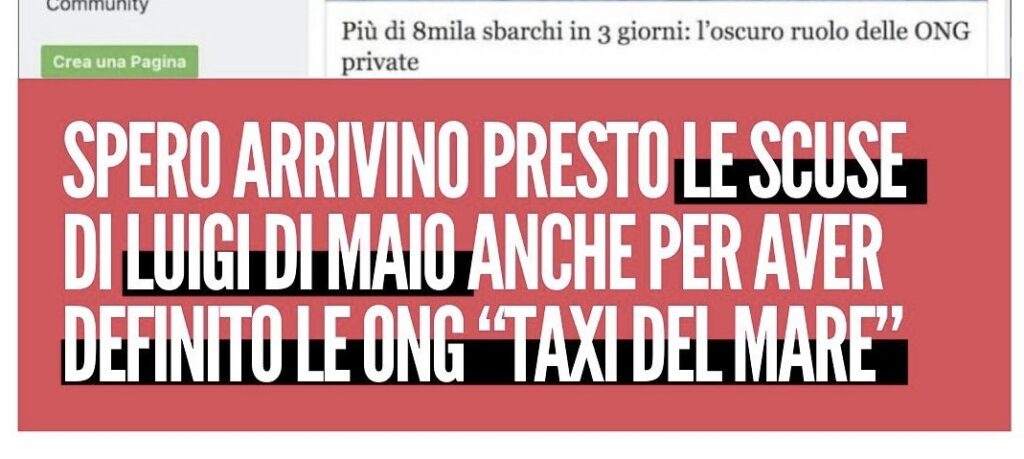 ONG Taxi del mare
